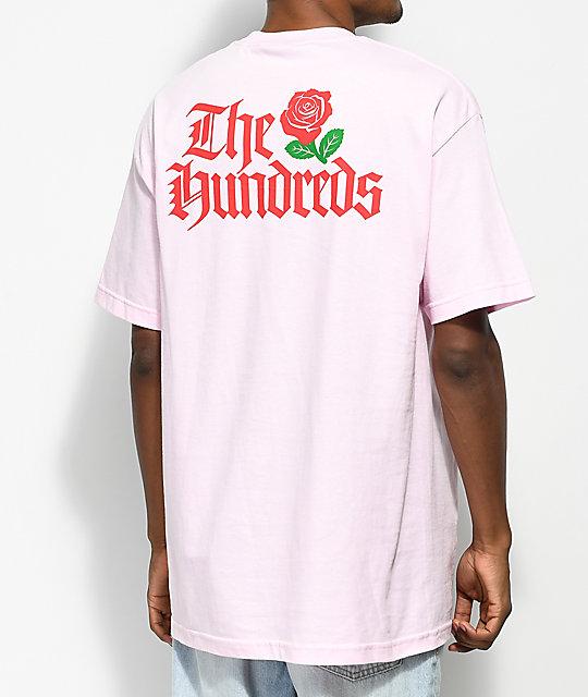 Hundreds Big Rose Pink T-Shirt