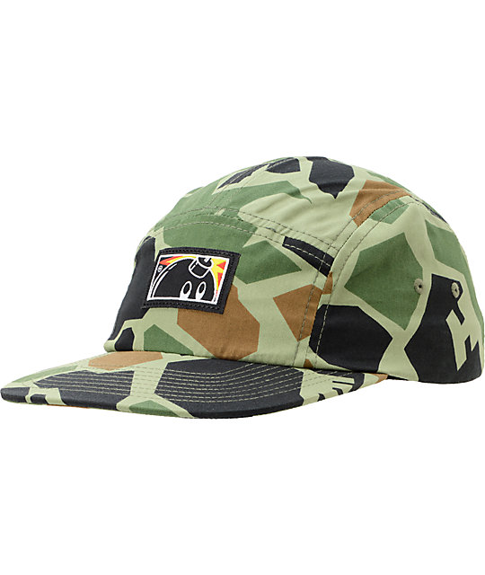 The Hundreds Cloak Duck Camo 5 Panel Hat