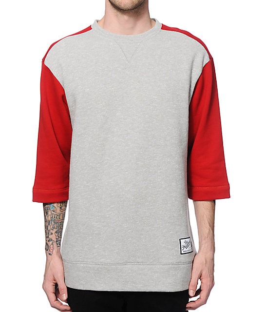 Hundreds Coasting Short Sleeve Crew Neck Sweatshirt