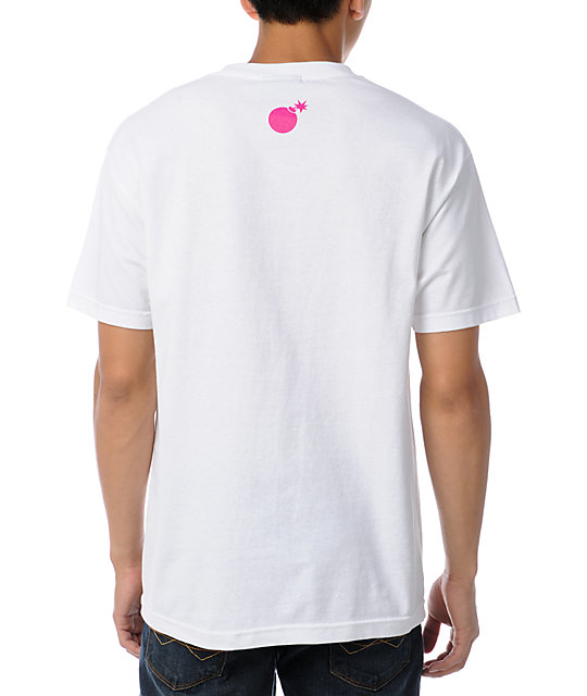 The Hundreds Corners Gradient White T-Shirt