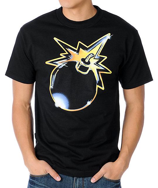 The Hundreds Crusader Black T-Shirt