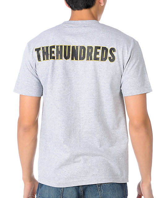 The Hundreds Crusader Heather Grey T-Shirt