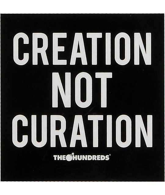 The Hundreds Curation Sticker