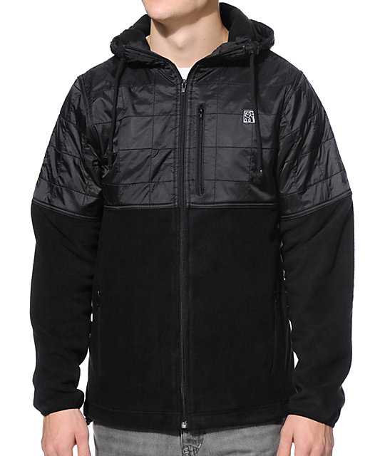 The Hundreds Dale Black Jacket