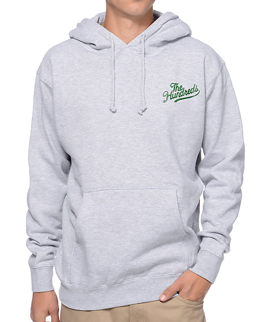 The Hundreds Duckin Slant Grey & Camo Pullover Hoodie