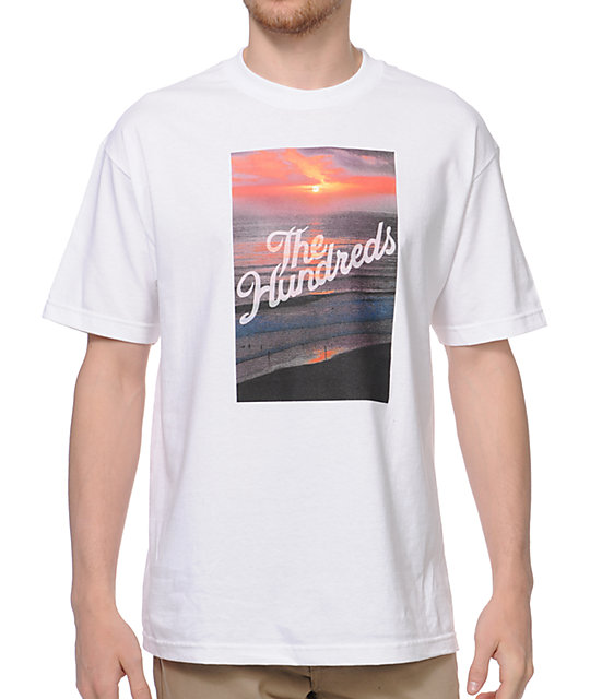 The Hundreds Dusk White T-Shirt