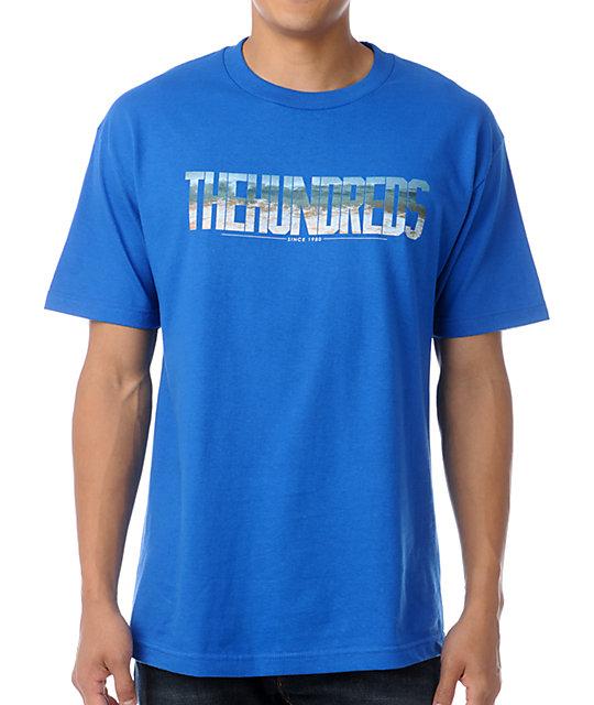 The Hundreds End Scene Blue T-Shirt