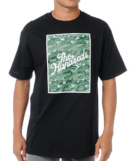 The Hundreds Error Slant Black T-Shirt