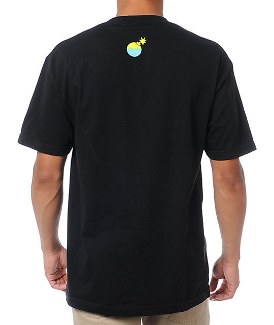 The Hundreds Etchy Black T-Shirt