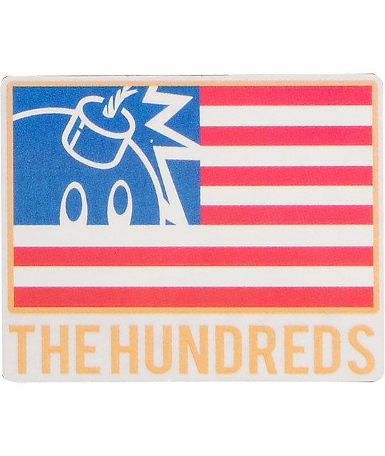 The Hundreds Flag Sticker