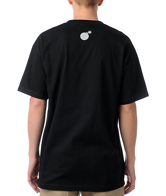The Hundreds Forever Bar Logo Black T-Shirt
