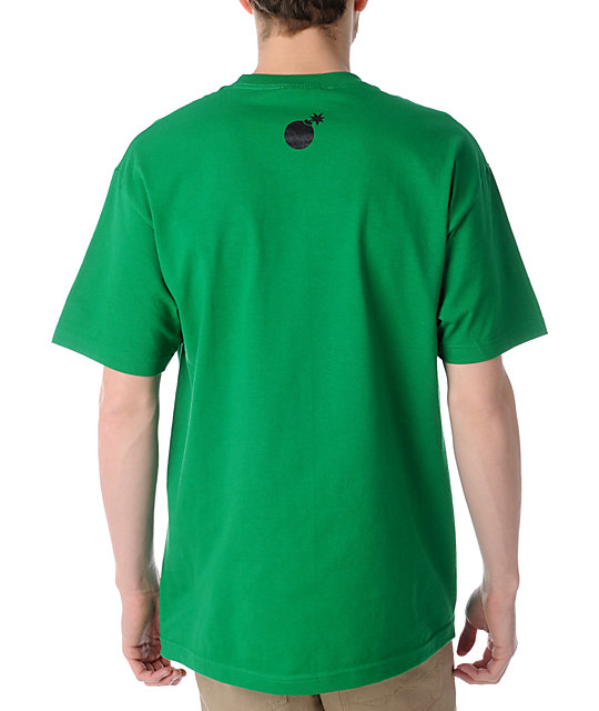 The Hundreds Forever Bar Logo Kelly Green T-Shirt