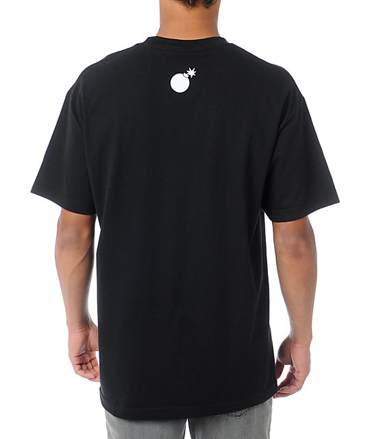 The Hundreds Forever Half Bomb Black T-Shirt