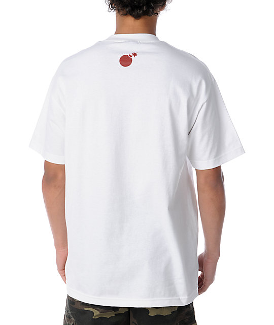 The Hundreds Forever Slant White T-Shirt