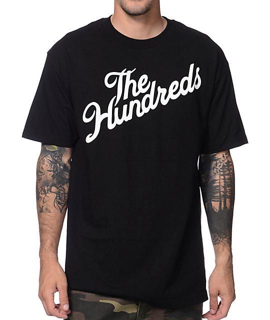 The Hundreds Forever Stop It Slant Black T-Shirt
