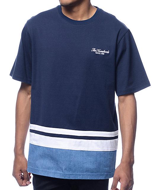 The Hundreds Howard Navy T-Shirt