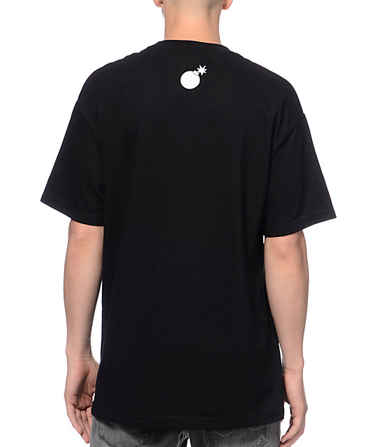 The Hundreds Jabs Black T-Shirt