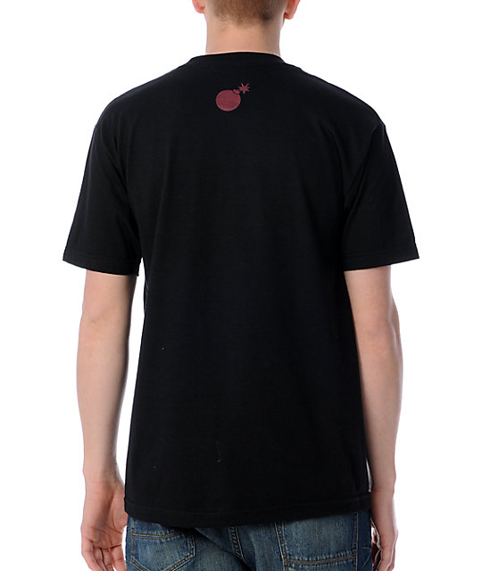 The Hundreds Jean Black T-Shirt