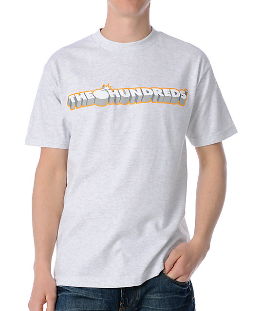 The Hundreds Logo Heather Ash T-Shirt