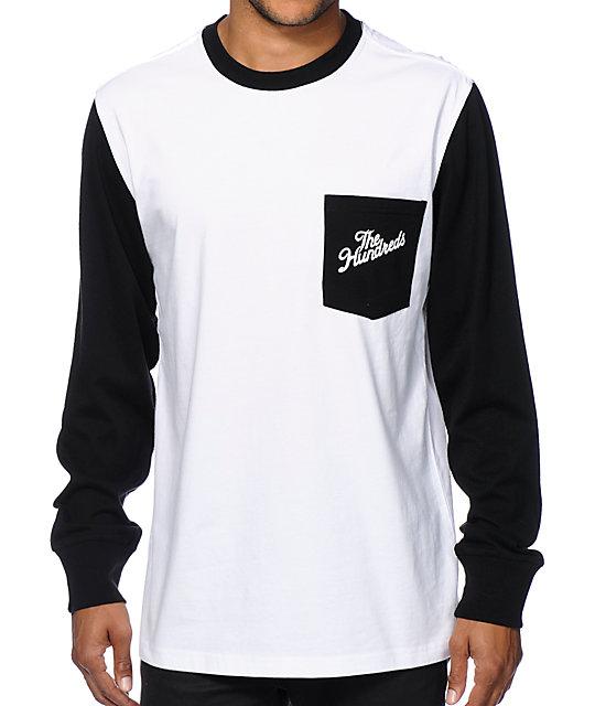 Hundreds Marcos Long Sleeve Pocket T-Shirt