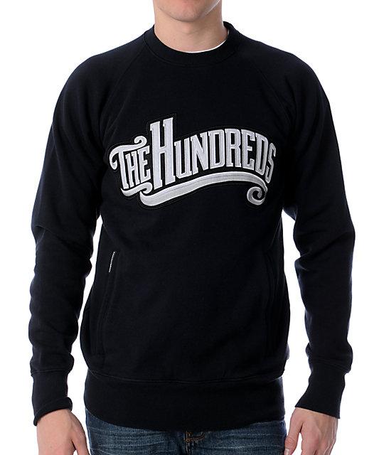The Hundreds Marshall Black Sweatshirt