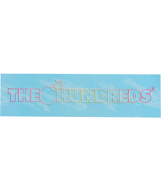The Hundreds Messy Sticker