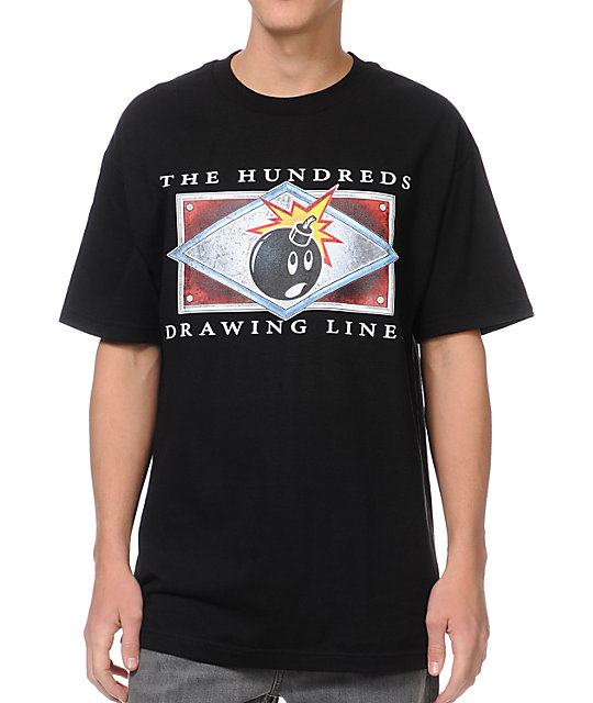 The Hundreds Name Plate Black T-Shirt