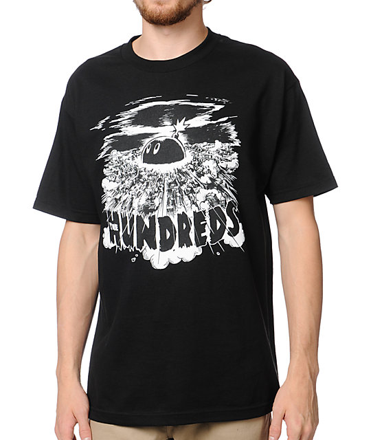 The Hundreds Neo Black T-Shirt
