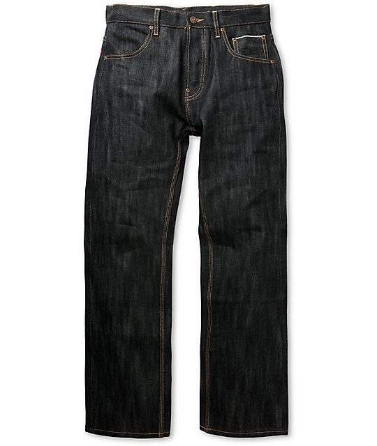 The Hundreds Ocean Blue Relaxed Fit Selvedge Denim Jeans