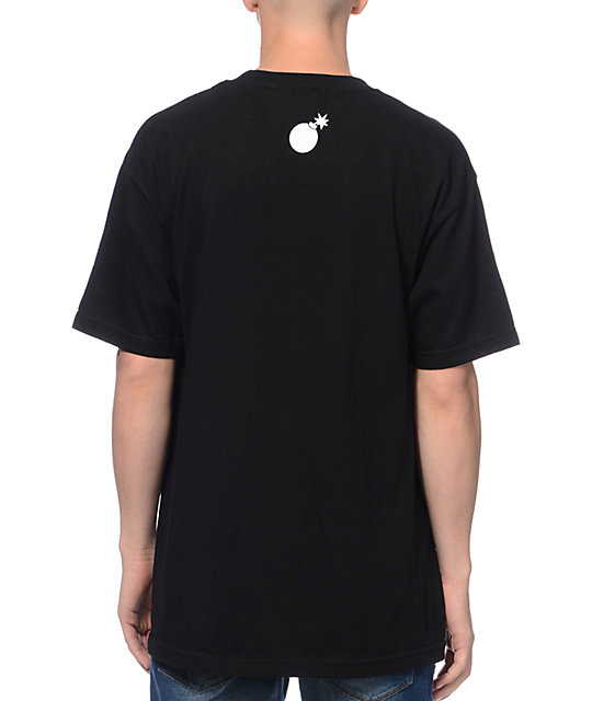 The Hundreds Paintbrush Black T-Shirt