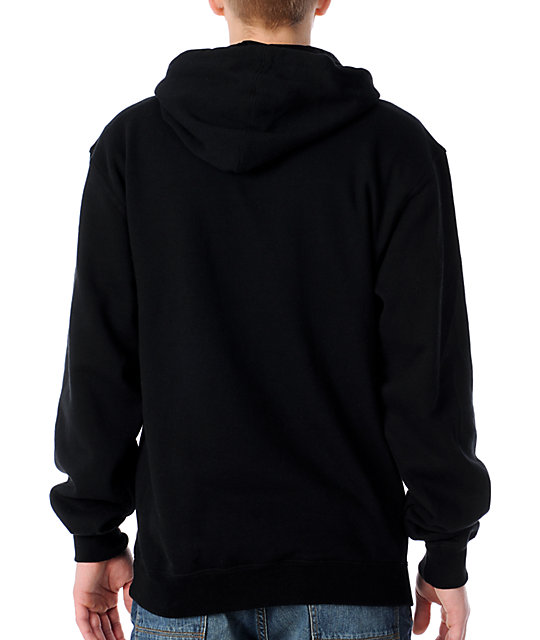 The Hundreds Pattern Square Black Pullover Hoodie