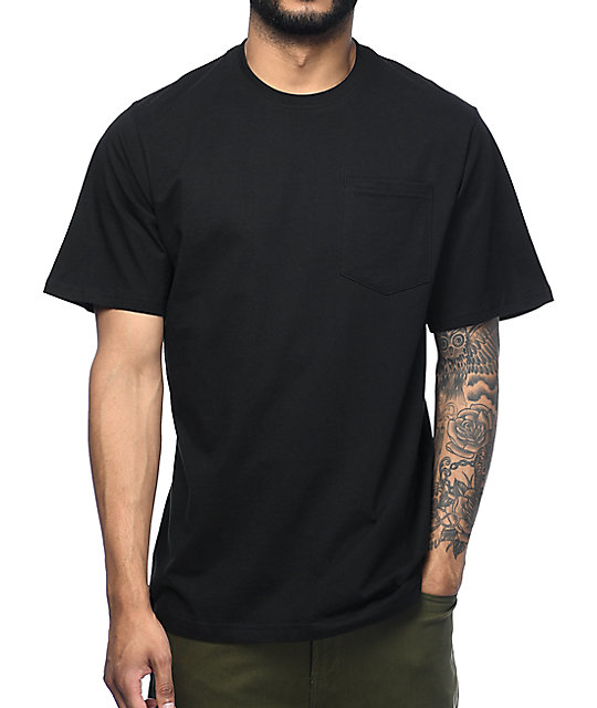 The hundreds perfect pocket black t shirt at zumiez pdp for Perfect black t shirt