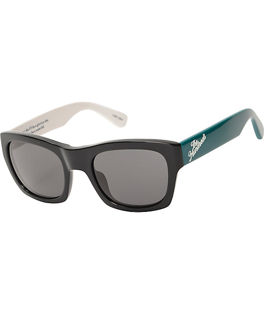 The Hundreds Phoenix Black & Teal Sunglasses