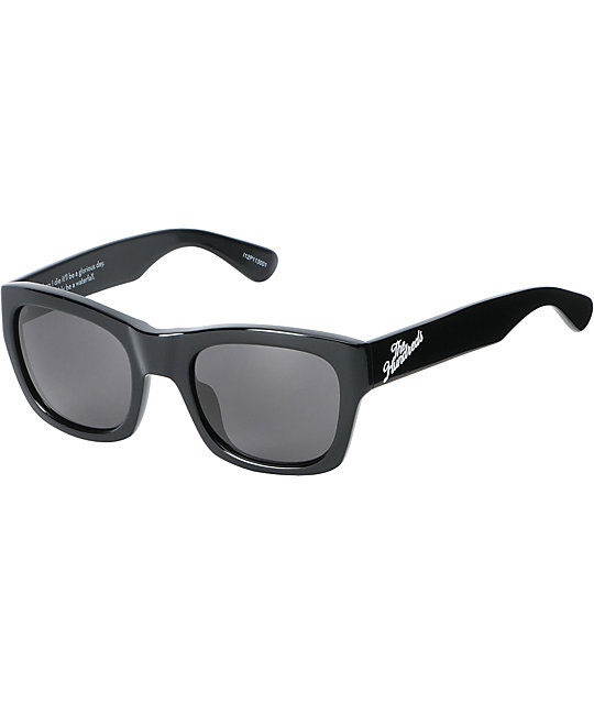 The Hundreds Phoenix Gloss Black Sunglasses