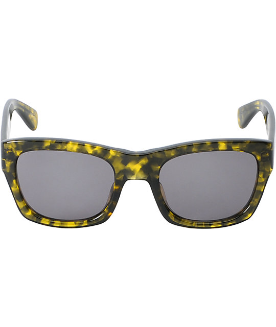 The Hundreds Phoenix Green Tortoise Sunglasses