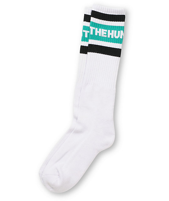 The Hundreds Physical 2 White Crew Socks