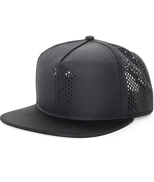 The Hundreds Pine Black Mesh Snapback Hat