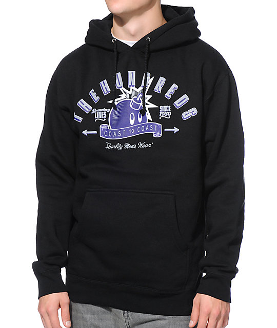 The Hundreds Quality Black Pullover Hoodie