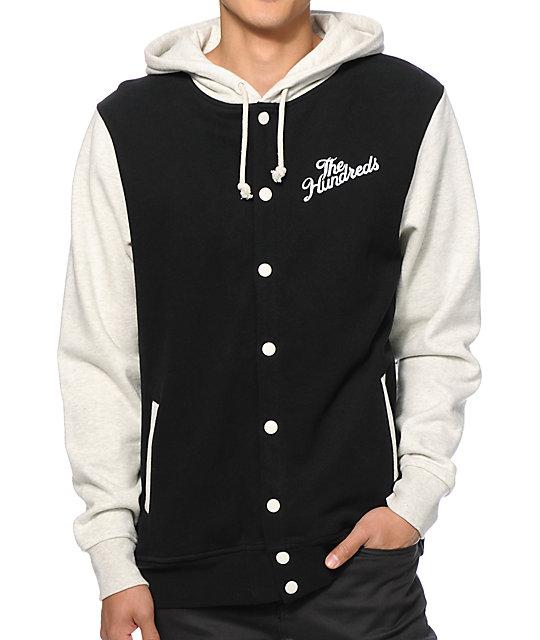 The Hundreds Raphael Fleece Varsity Jacket