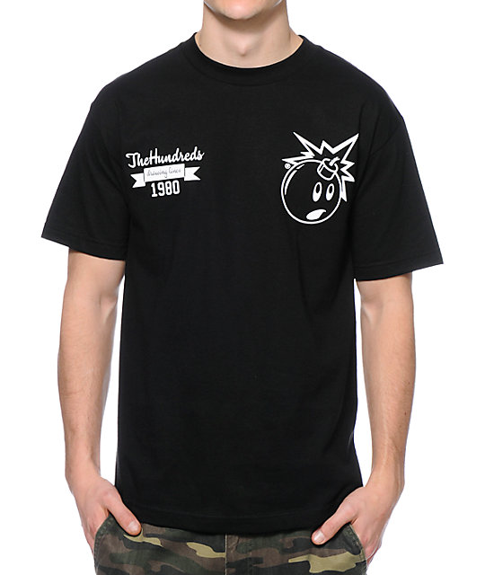 The Hundreds Reloaded Black T-Shirt