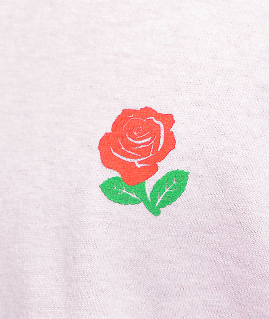 The Hundreds Rose Fill Slant Pink T-Shirt
