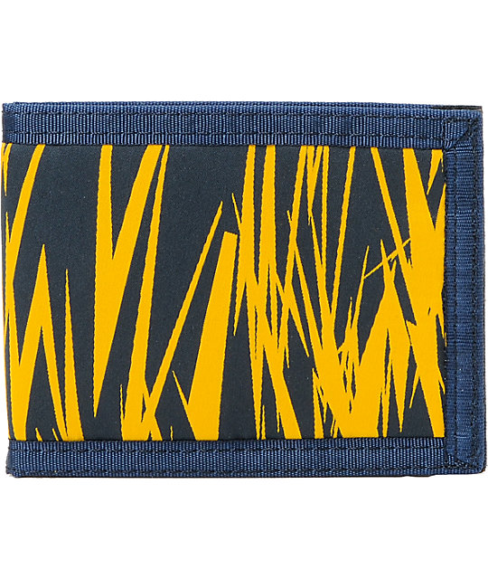 The Hundreds Sam 3 Navy Bifold Wallet