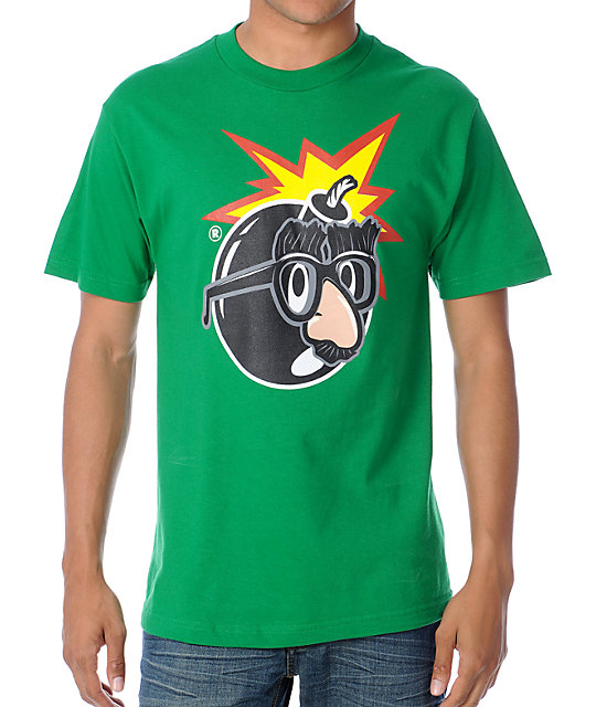 The Hundreds Serious Pop Green T-Shirt