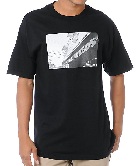 The Hundreds Shop Black T-Shirt