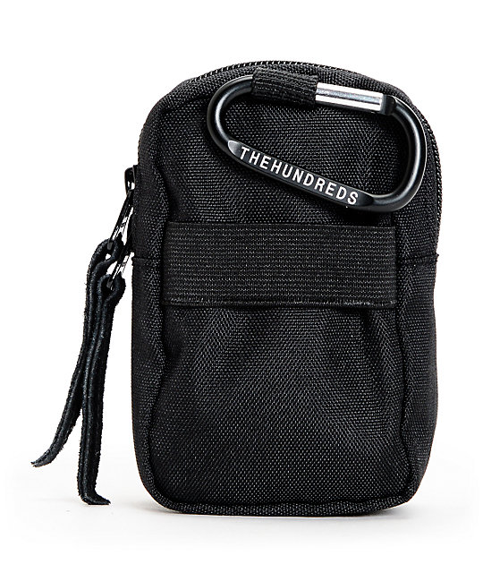 The Hundreds Shutter Black Camera Bag