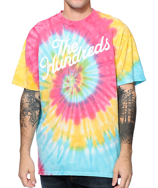 The Hundreds Slant Tie Dye T-Shirt
