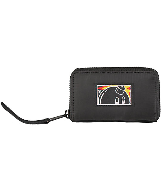 The Hundreds Slate Zipper Wallet