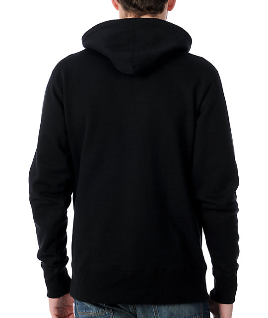 The Hundreds Solid Logo Black Pullover Hoodie