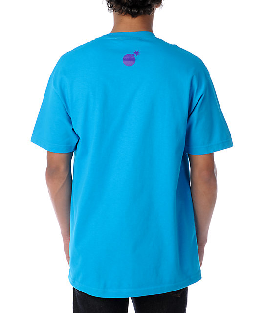 The Hundreds Splat Turquoise T-Shirt