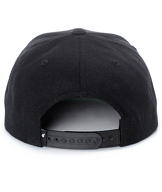 The Hundreds Team Two Black Snapback Hat